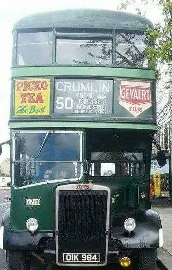 Classic Dublin Bus