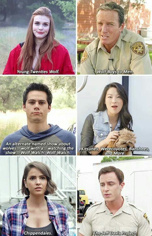 "Teen Wolf cast answers, ""If the show wasn't called Teen Wolf, what would its name be?"""