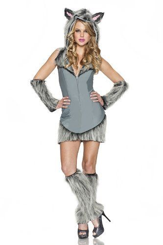 no doubt a top halloween costumes for women this she wolf costume is cute sexy - Halloween Costumes Wolf