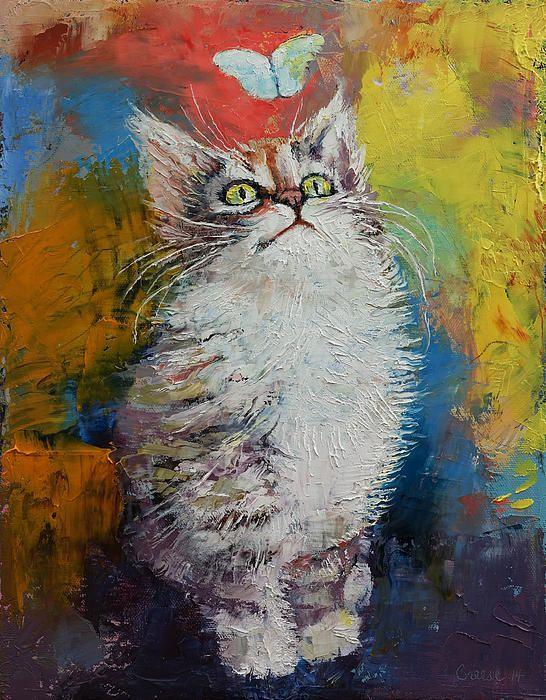 sweet kitty portrait