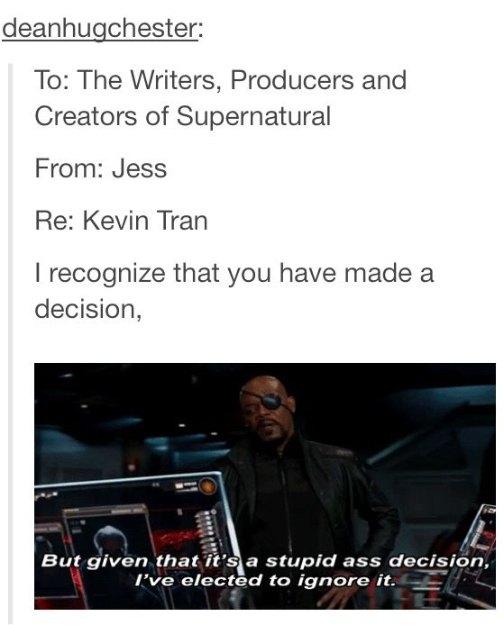 WE ARE GOING TO PHIL COULSON THIS!<--KEVIN FREAKIN' SOLO,IS STILL ALIVE,WELL YOU KNOW WHO I MEAN...
