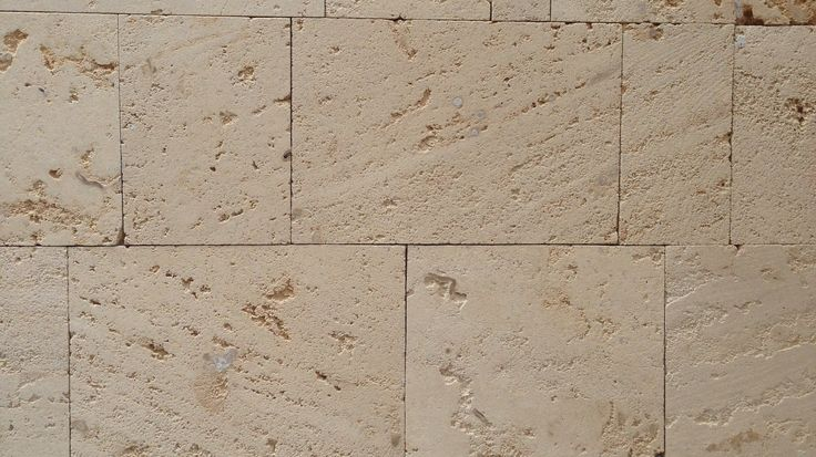 Natural texture of pure Western Australian limestone dry stacked feature. Modern design.