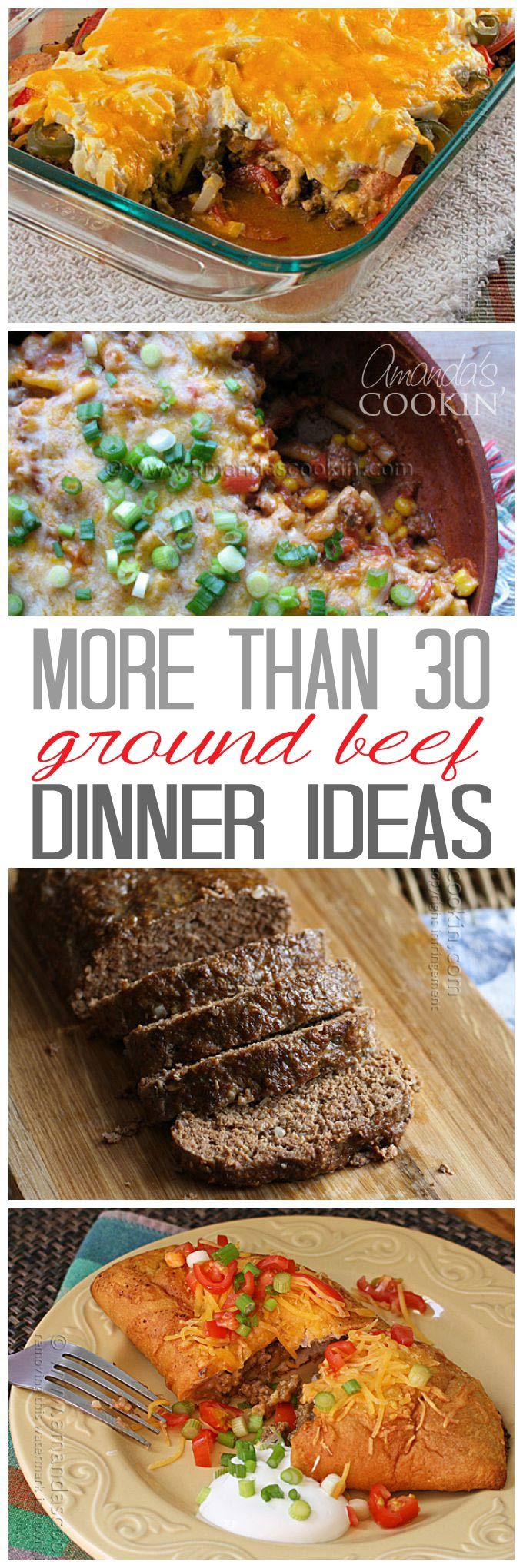 25 best beef dinner ideas on pinterest beef meals for Good dinner recipes with ground beef