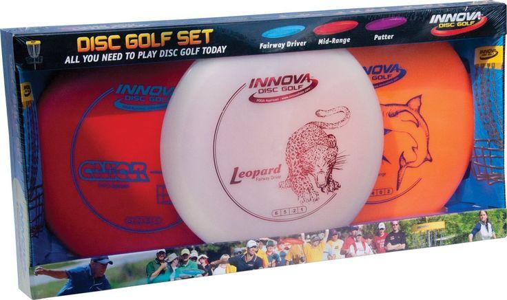 Amazon.com : Innova DX Disc Golf Set (3-Disc) (Colors may vary) : Disc Golf Starter Kits : Sports & Outdoors