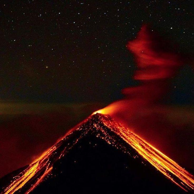 Volcán Pacaya Guatemala [OC] [750x740]