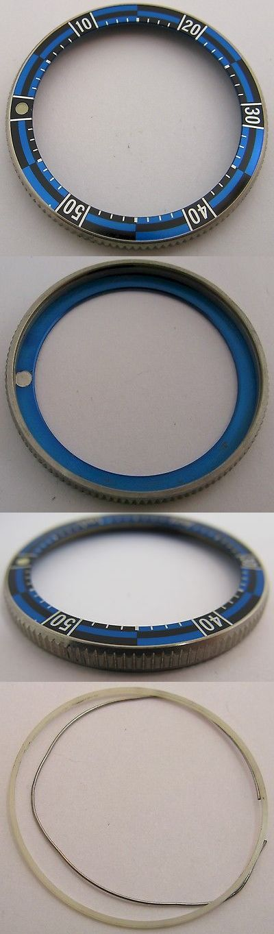 Other Watch Parts and Tools 180246: Seiko Sports Rally Diver Bezel 40 Mm + Blue And Black Insert Lum. Dot For Parts -> BUY IT NOW ONLY: $195 on eBay!