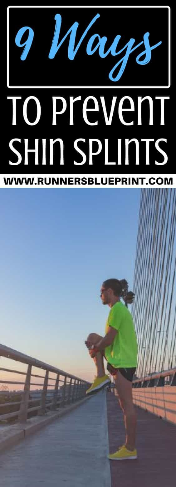 How to Get Rid of Shin Splints Once you're familiar with the main culprits responsible for shin splints, apply some of the following strategies to reduce injury recurrence. http://www.runnersblueprint.com/get-rid-of-shin-splints/ #Shin #splints #preventio