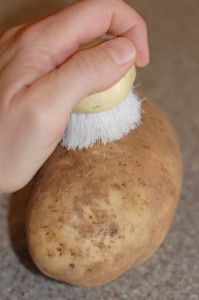 How to Bake Potatoes! This really worked!