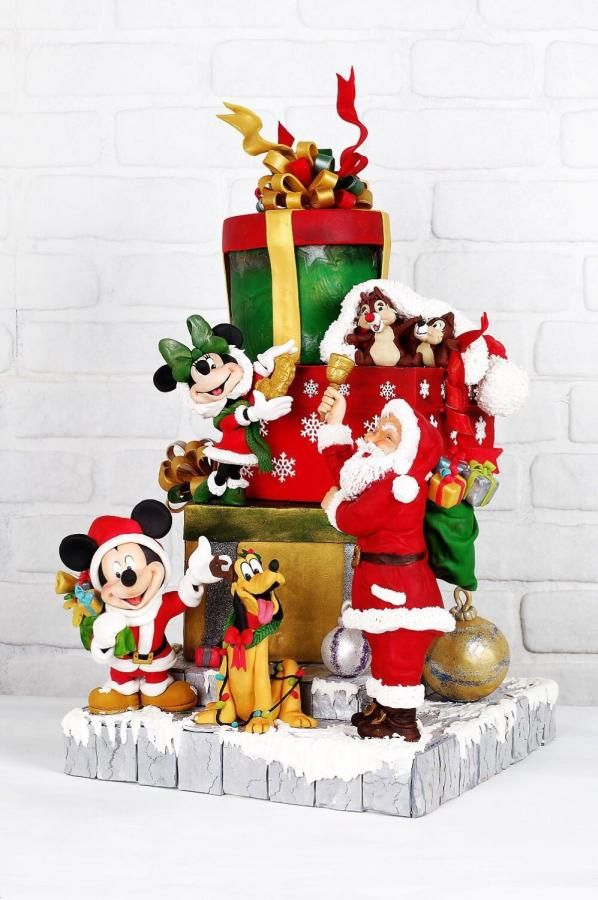 Disney  noel cake by Şule