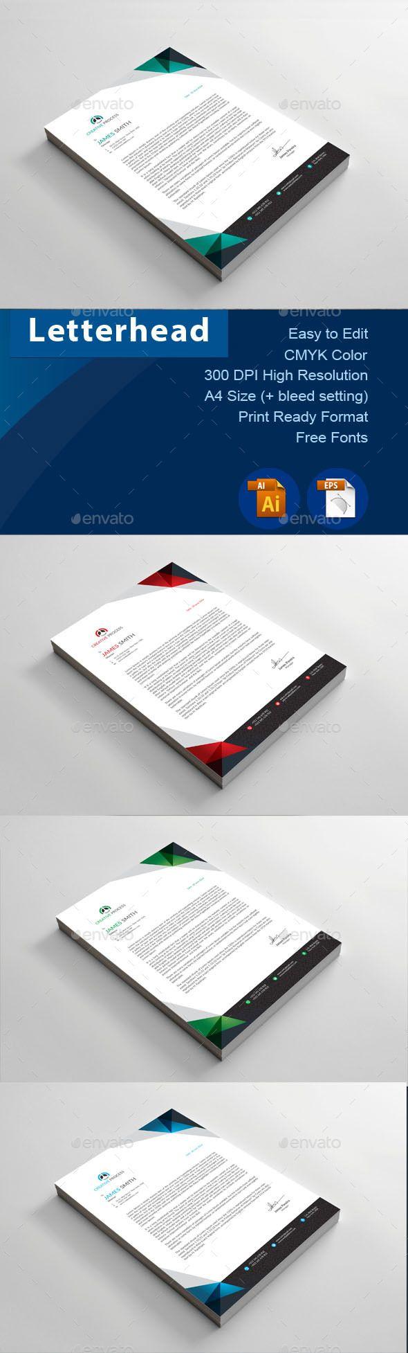 Letterhead - Certificates Stationery Download here: https://graphicriver.net/item/letterhead/19709206?ref=classicdesignp