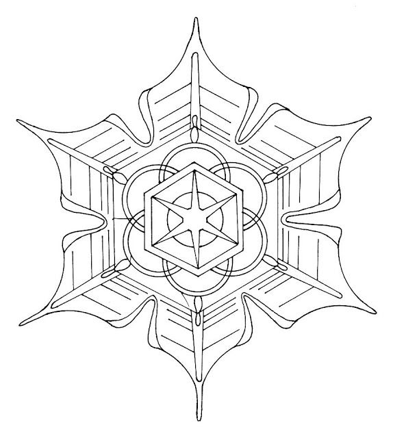 37 best coloring pages images on pinterest   drawings, coloring ... - Mandala Snowflakes Coloring Pages
