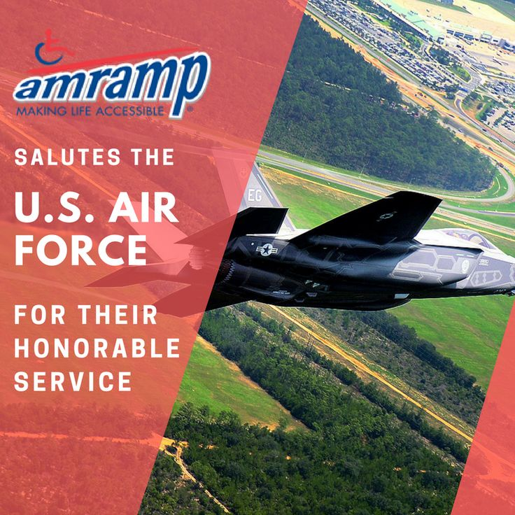 Amramp salutes the U.S. Air Force for their honorable service! Learn how you can make a difference in the lives of U.S. veterans and active soldiers