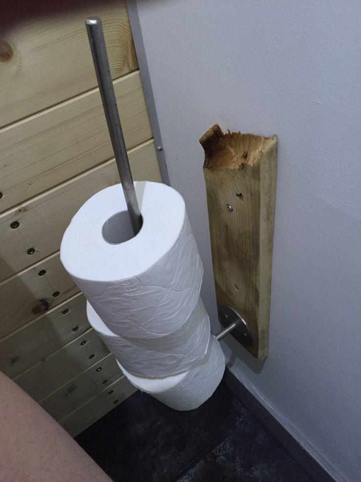 Support rouleaux papiers WC