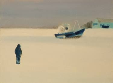 "Saatchi Art Artist Marta Zamarska; Painting, ""Winter Postcard 3"" #art"