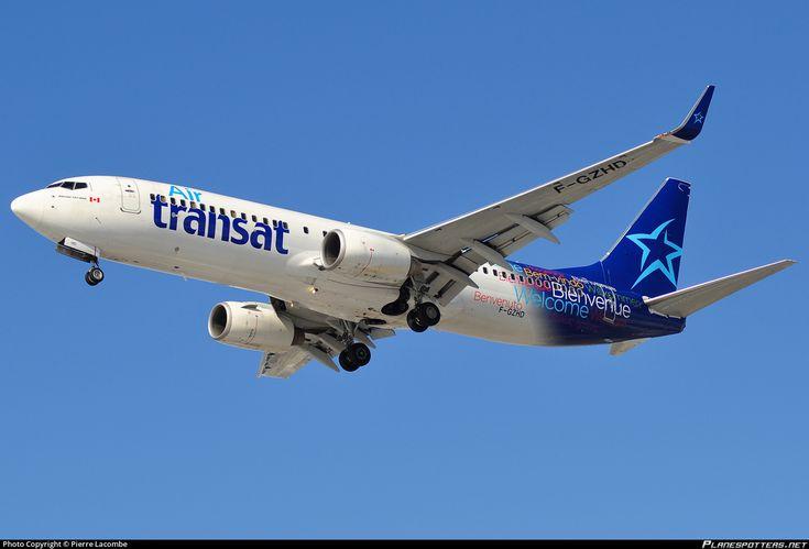 F-GZHD Air Transat Boeing 737-8K2(WL) photographed at Montréal Pierre-Elliot-Trudeau International (Dorval) (YUL / CYUL) by Pierre Lacombe