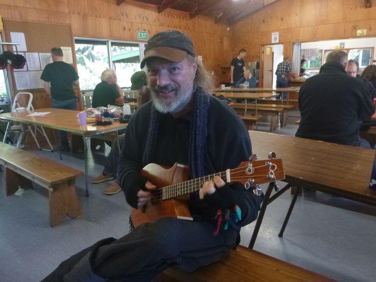 Michael Young at Waharau gathering 2014