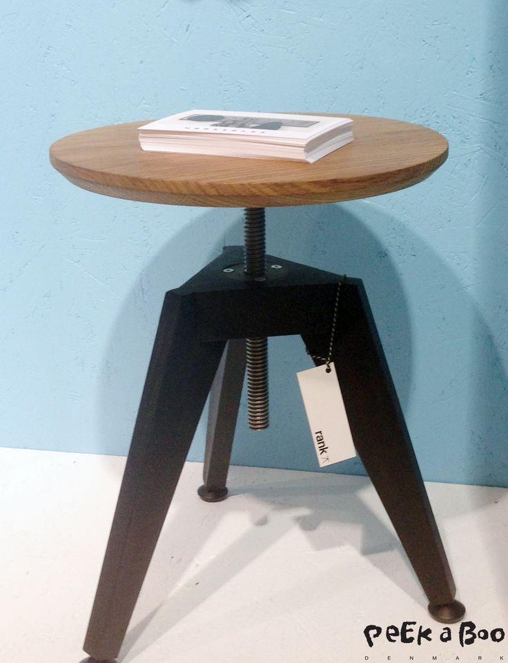 Stool made by Danish designers Roon & Rahn. Design Blog - DIY - Home Garden and Living inspiration - Peekaboo Design