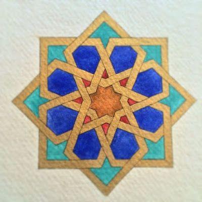 Szilvi foltvarró blogja: Keleti kényelem avagy, iszlám csempeminta párnán