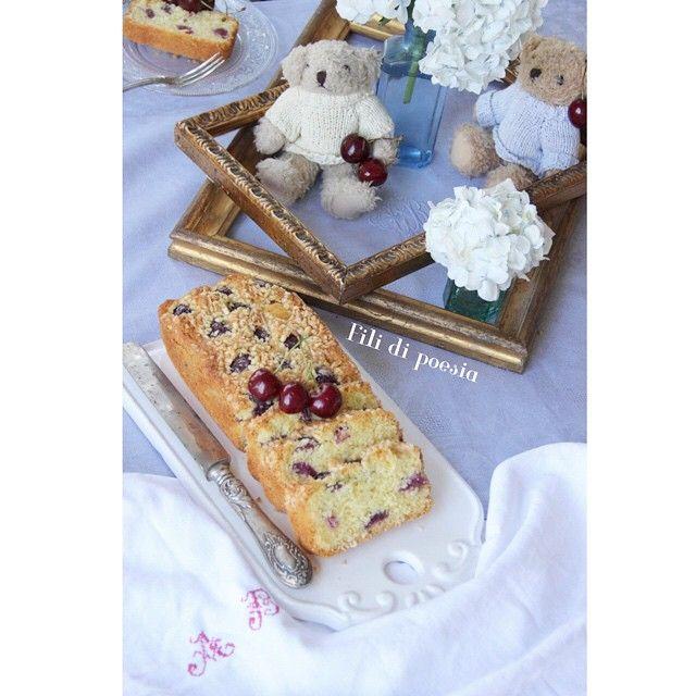 Summer breakfast wirh a vintage touch