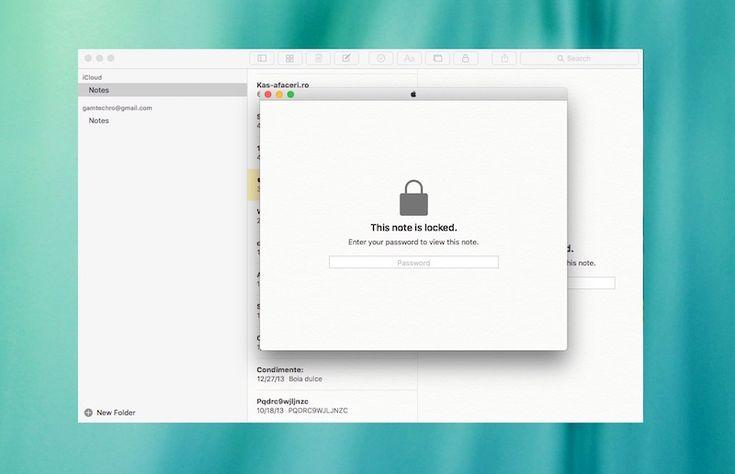 Cum Sa Protejati cu Parola Notitele din Aplicatia Apple Notes