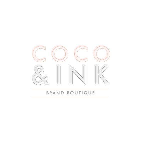 Premade Logo Design & Brand Identity Pack by CocoAndInkDesigns
