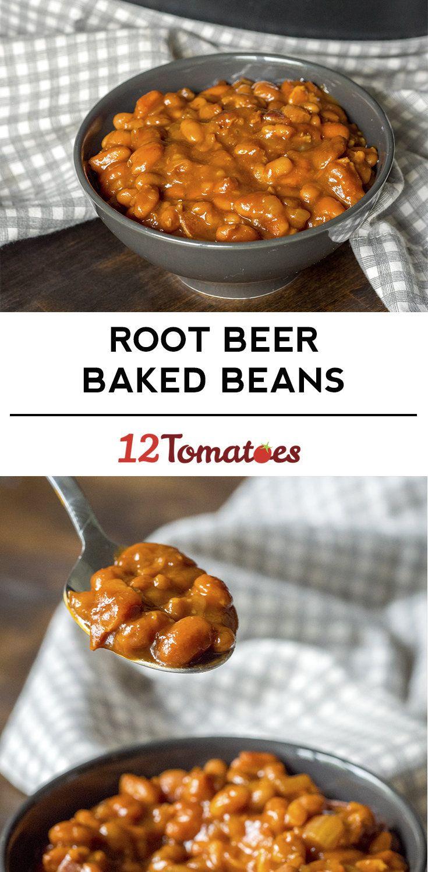 root beer baked beans slow cooker root beer baked beans gebackene ...
