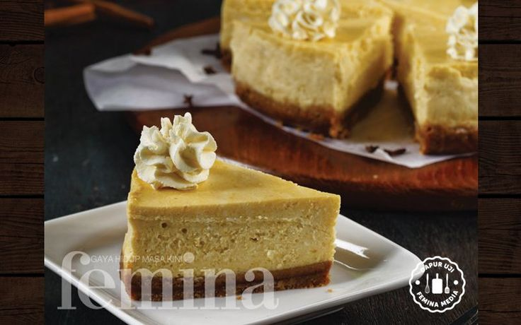 Resep Pumpkin Yoghurt Cheesecake