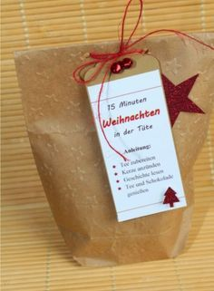 15 Minuten Weihnachten in der Tüte, Stampin Up, Big Shot
