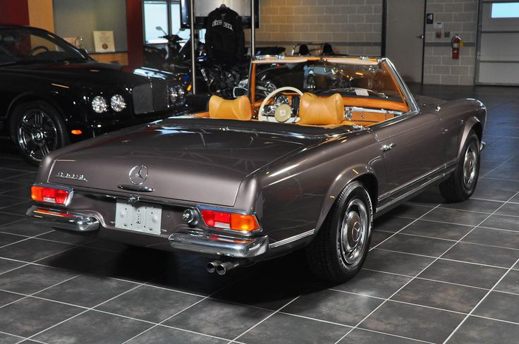 1965 mercedes benz 230sl classic cars pinterest