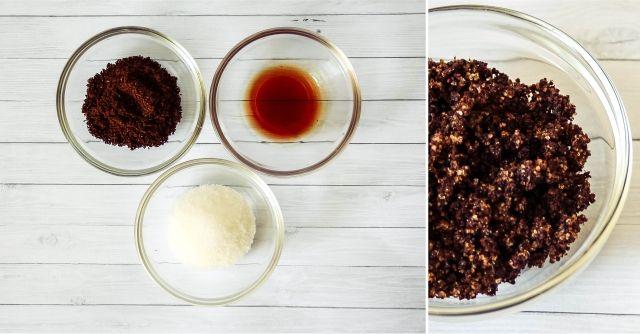 Coffee & Vanilla Sugar Scrub #beauty #beautyblogger #beautyblog #bblogger #bblog #DIYbeauty #sugarscrub #bodyscrub #DIYscrub