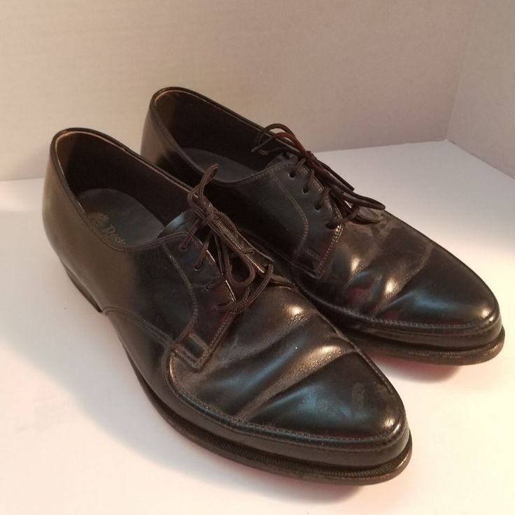 Men's Bostonian Challenger Black Oxford Shoes Dress Or Casual Size 8C #Bostonian #Oxfords #CasualorDress