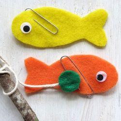 joc d pesca amb feltre i imans