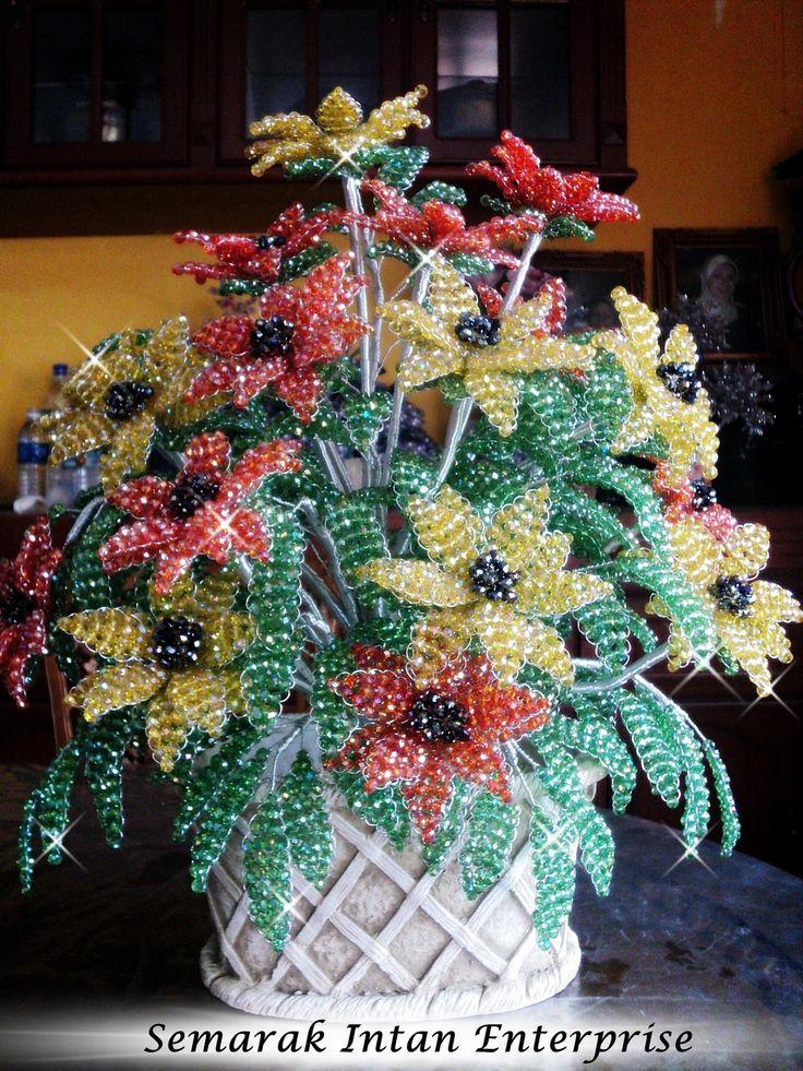 Pokok bunga manik