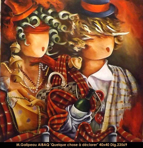 Marc Galipeau original acrylic painting on canevas #marcgalipeau #art #acrylicpainting #originalpainting #fineart #canadianartist #quebecartist #winebottle #multiart #balcondart