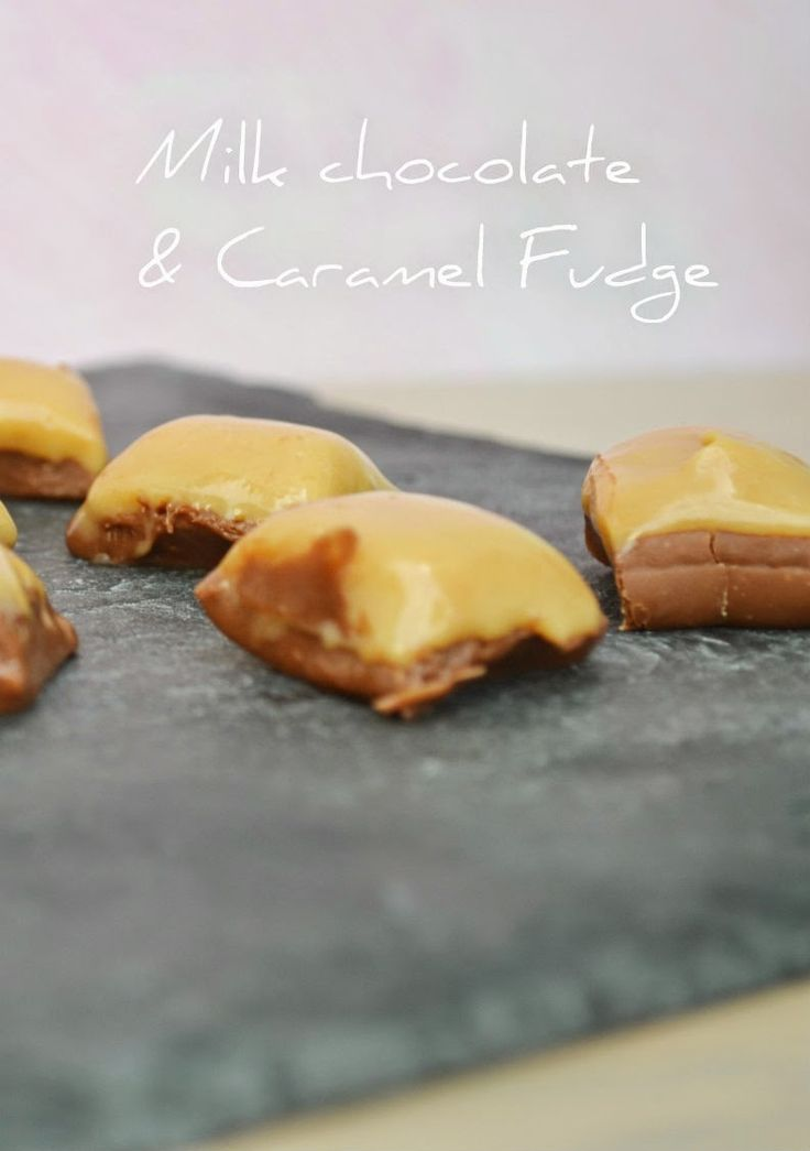 Craft Cook Love: Fudge με Σοκολάτα & Καραμέλες Γάλακτος - Milk Chocolate & Caramel Fudge