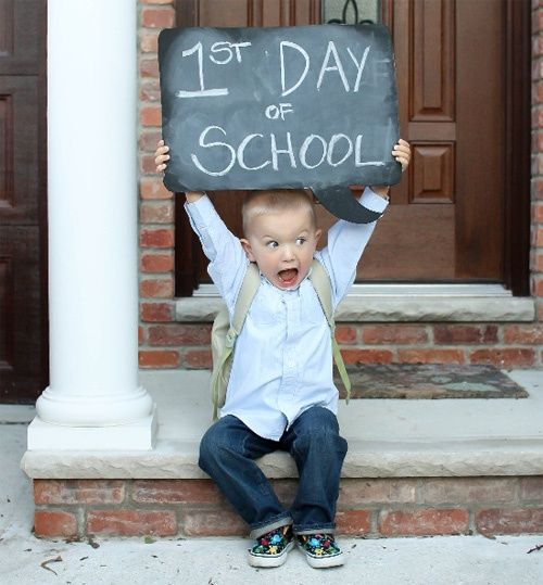 10 Fun ideas for the first day of school! kids-stuff