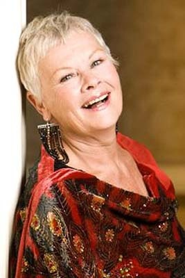 """Dame Judi Dench, born 1934 Saw her in London Shakespeare play """"A Comedy of Errors""""."""