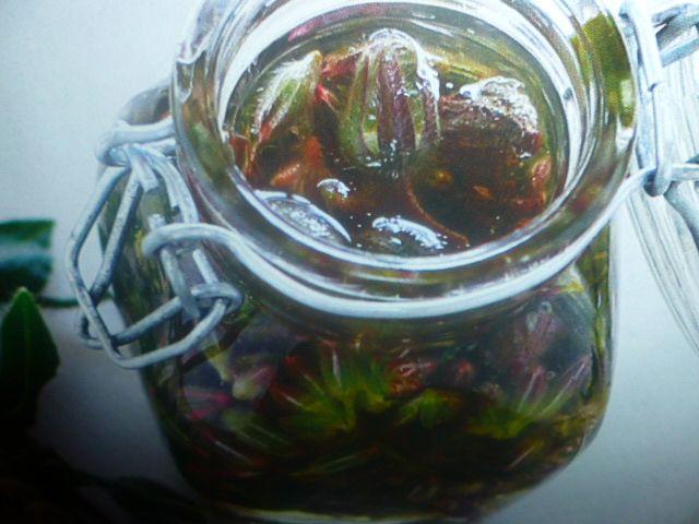 borragine ricette - in agrodolce