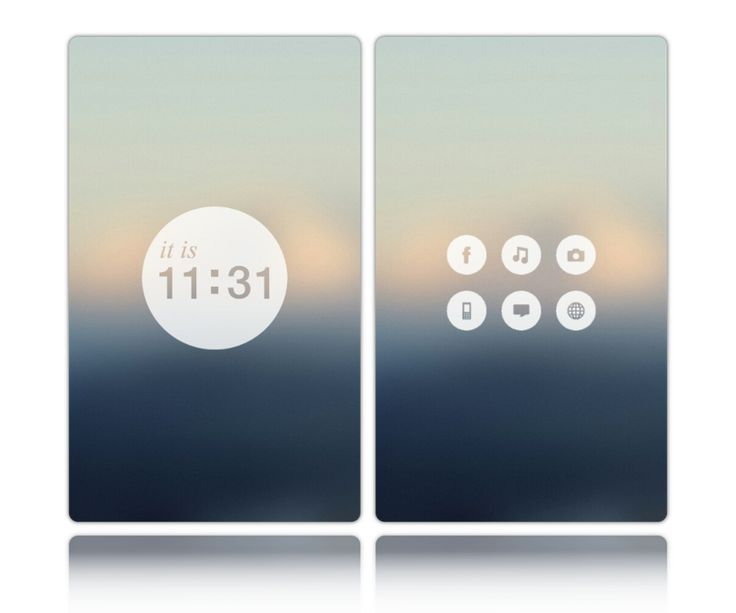 10 Android & iPhone Homescreens & Lockscreens   Part #3