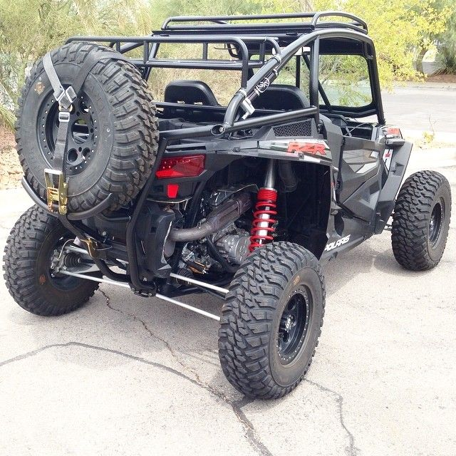Removable Rear Rack For Rzr Xp 1000 Nice Roof Rack Too