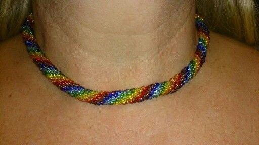 #rainbow #seedbeads