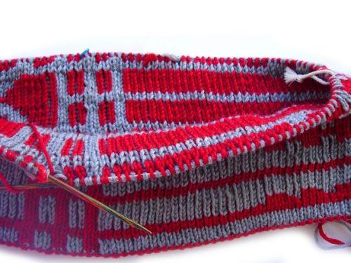 Διπλό πλέξιμο - Double knitting