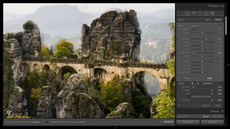 Úprava fotek v Adobe Photoshop a Lightroom
