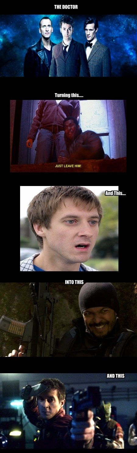 The Doctor Turns Boys Into Badasses This.