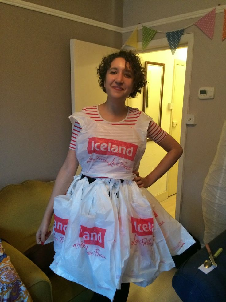 I dressed as Iceland for our Eurovision Song Contest 2014 Fancy Dress Party!