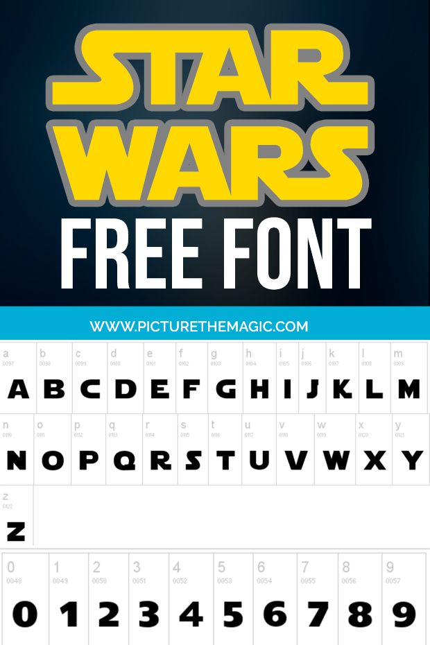 Download Now Free Star Wars Font September 2020 Star Wars Font Star Wars Printables Star Wars