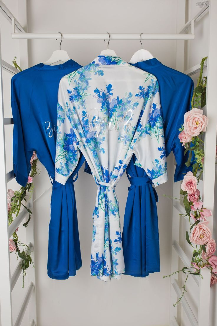 5f3c48a81c Dress you whole bridal party in gorgeous matching dressing gowns for the  perfect morning photos Dressing