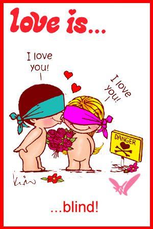 love is... blind (not by Kim Casali)