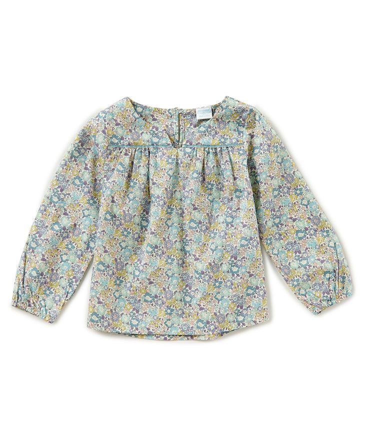 Shop for Edgehill Collection Made With Liberty Fabrics Little Girls 2T-6X Long-Sleeve Floral-Print Top at Dillards.com. Visit Dillards.com to find clothing, accessories, shoes, cosmetics & more. The Style of Your Life.