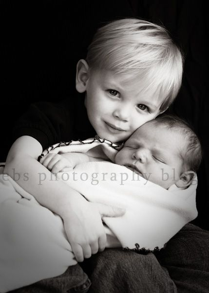 I want to take a picture like this of my boys with the new baby